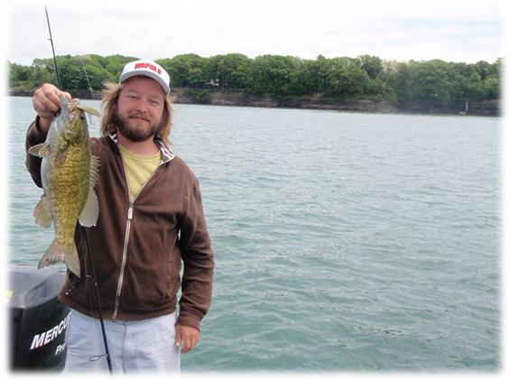 Fishing lake chautauqua three times a charm for Bass fishing times