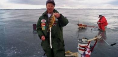 Ice Fishing Lake Simcoe